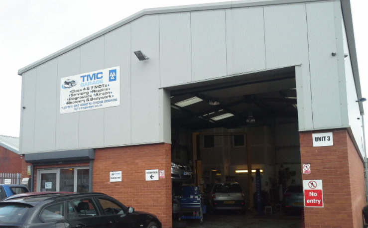 Front of TMC Garage Ltd - MOT and Servicing Newcastle Upon Tyne