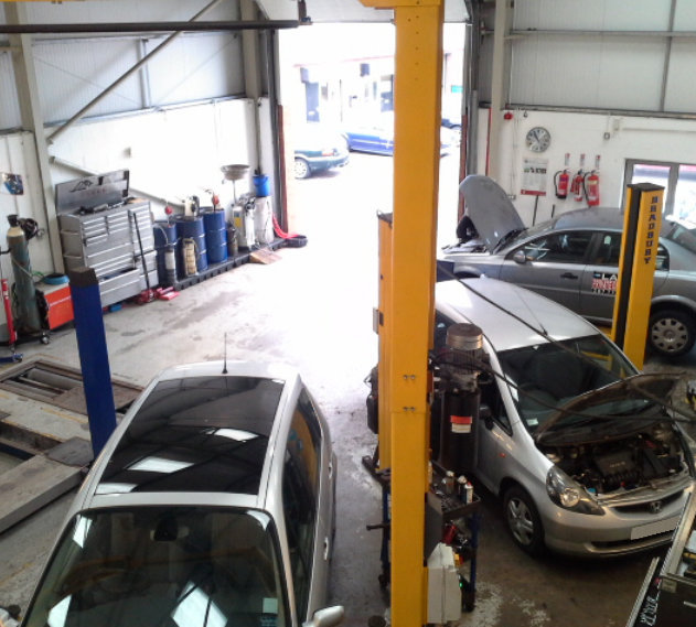 Inside our garage - MOT and Servicing Newcastle Upon Tyne